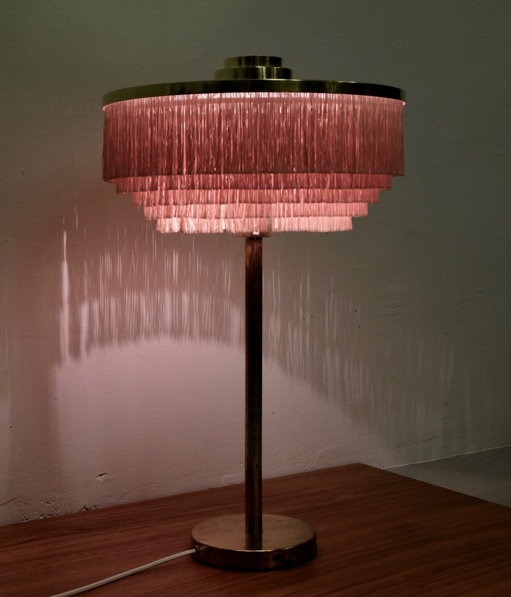 B 138 Pink Brass Table Lamp By Hans Agne Jakobsson For Hans Agne Jakobsson Ab Markaryd 1960s