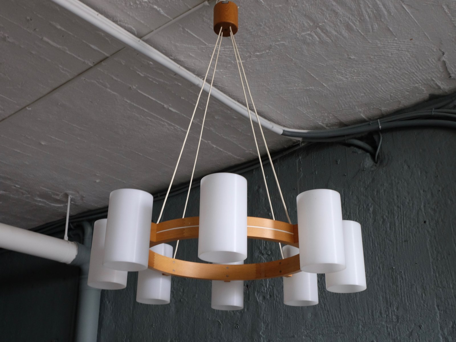 Model 587 chandelier by uno sten kristiansson for luxus 1960s price per piece aloadofball Choice Image