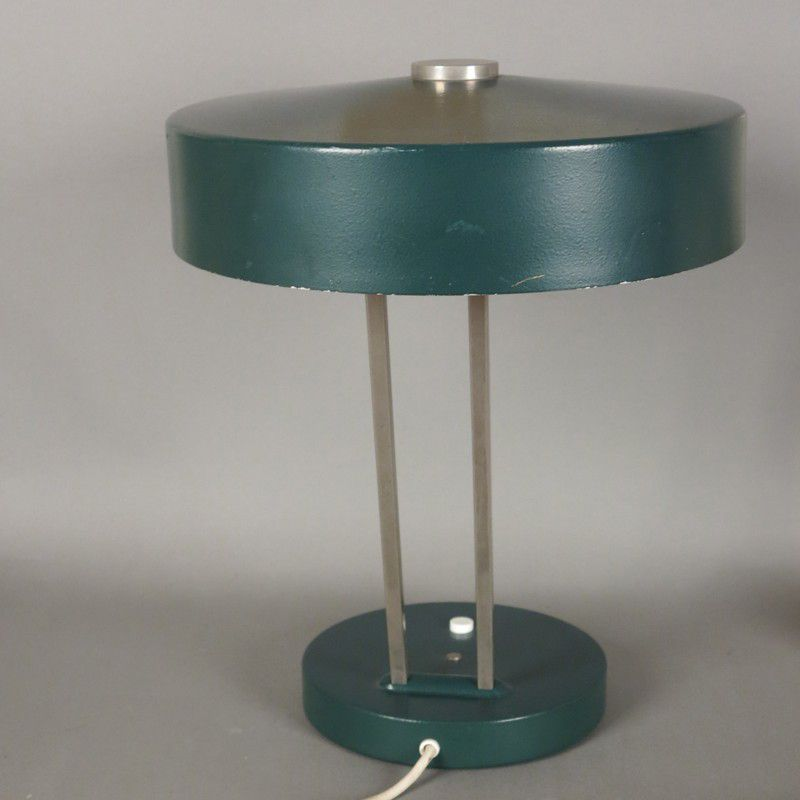 lampe de bureau verte de kaiser 1970s en vente sur pamono. Black Bedroom Furniture Sets. Home Design Ideas