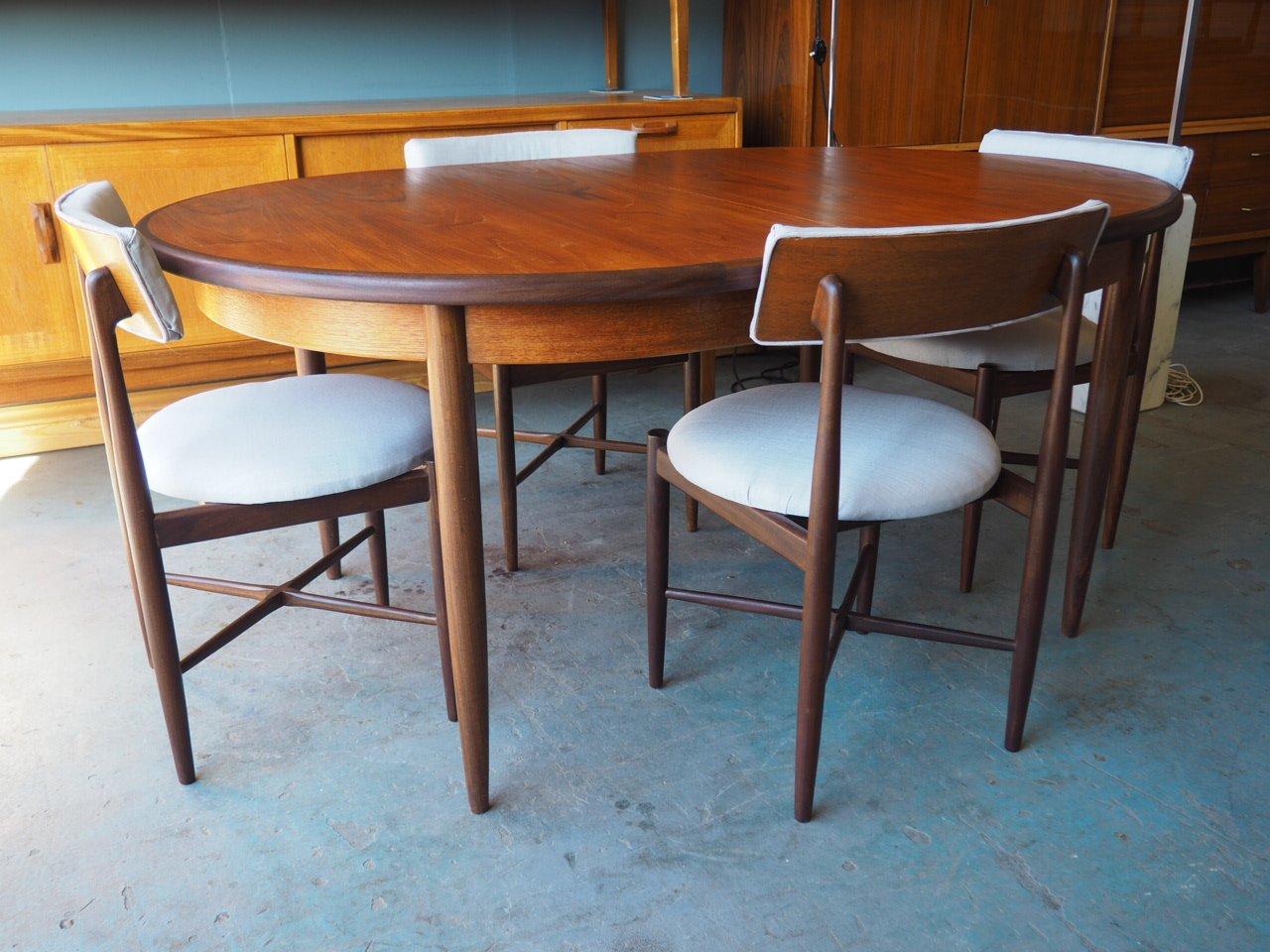 Vintage Esstisch & 4 Stühle aus Fresco Serie von G-Plan