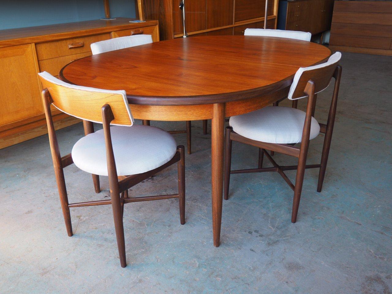 Sedie E Tavoli Vintage.Tavolo E 4 Sedie Da Pranzo Serie Range Vintage Di G Plan In Vendita