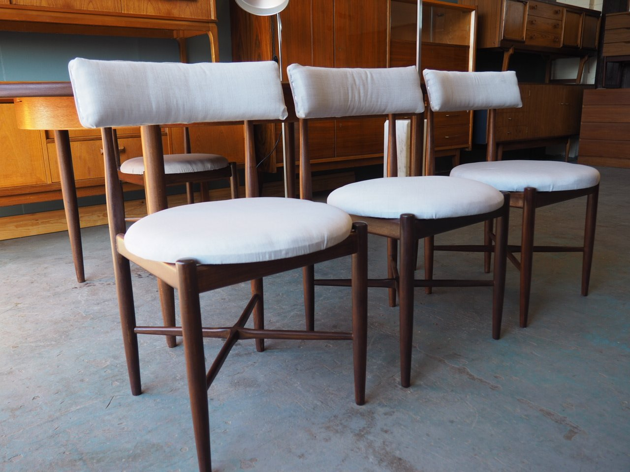Vintage Fresco Range Dining Table Chairs From GPlan For Sale At - Coffee table with 4 chairs