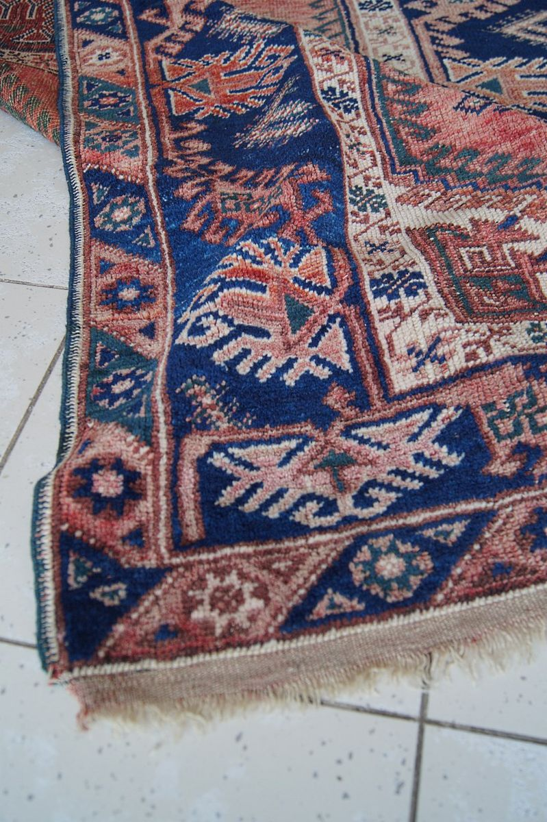 tapis vintage anatolien fait main en laine 1960s en vente sur pamono. Black Bedroom Furniture Sets. Home Design Ideas