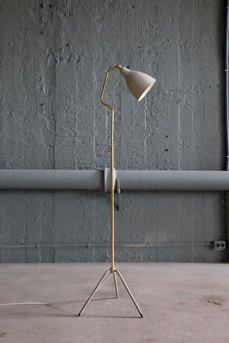 Schwedische Stehlampe von Falkenbergs Belysning, 1950er
