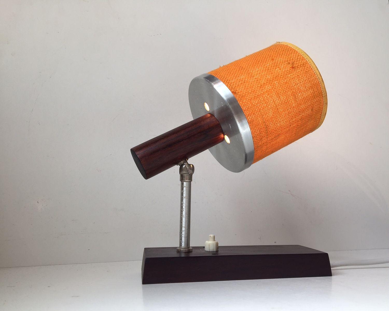 Verstellbare Palisander Silva Wandlampe von Lyfa, 1970er