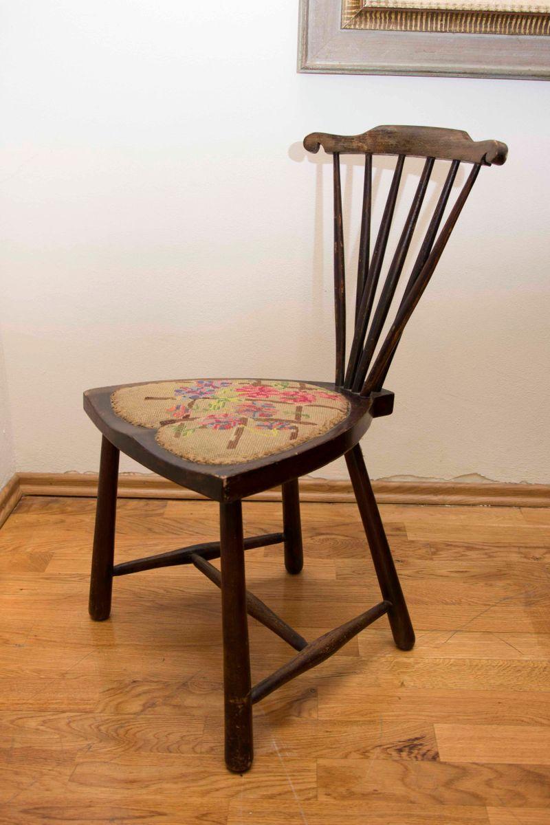 Windsor stuhl mit f cher r ckenlehne von adolf loos 1920er bei pamono kaufen - Windsor stuhl ...