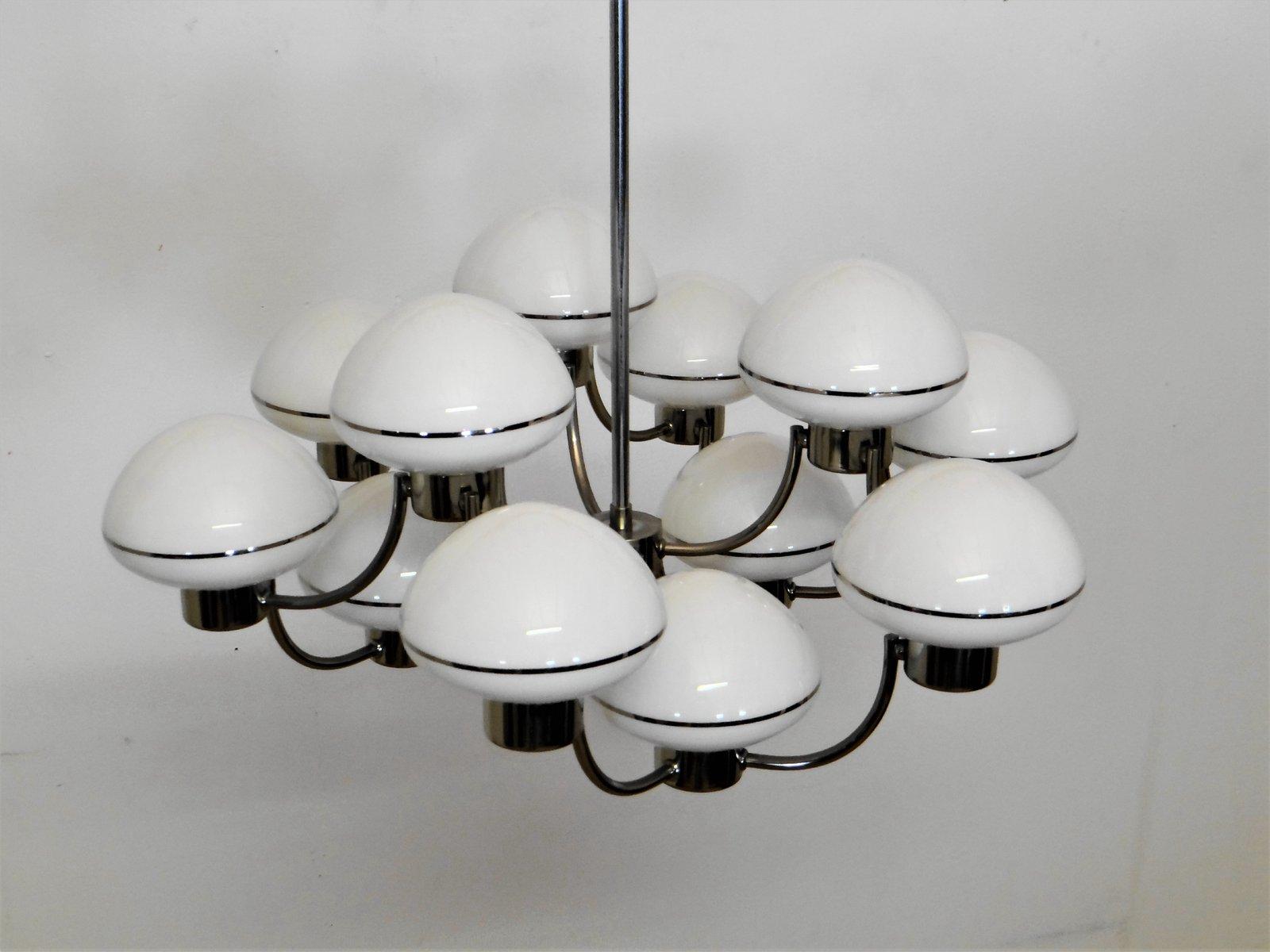 Vintage Kronleuchter mit 12 Leuchten von Gaetano Sciolari