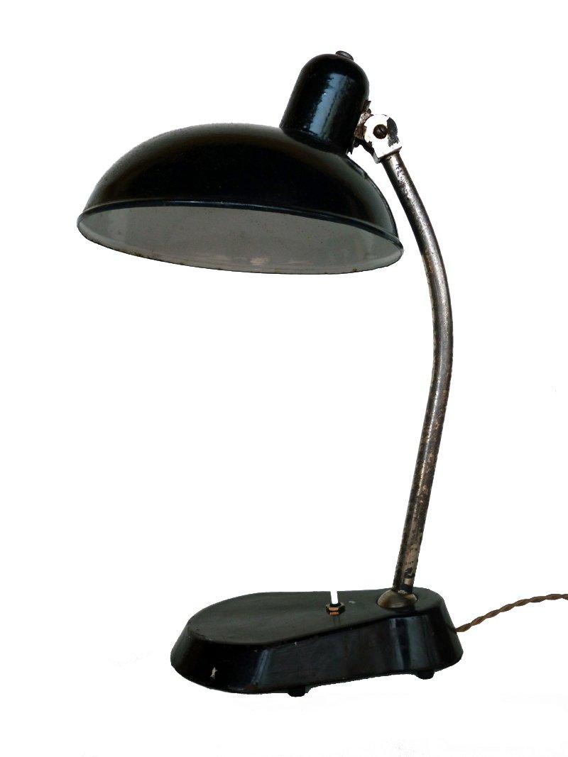 Italienische Vintage Bakelit Tischlampe, 1930er