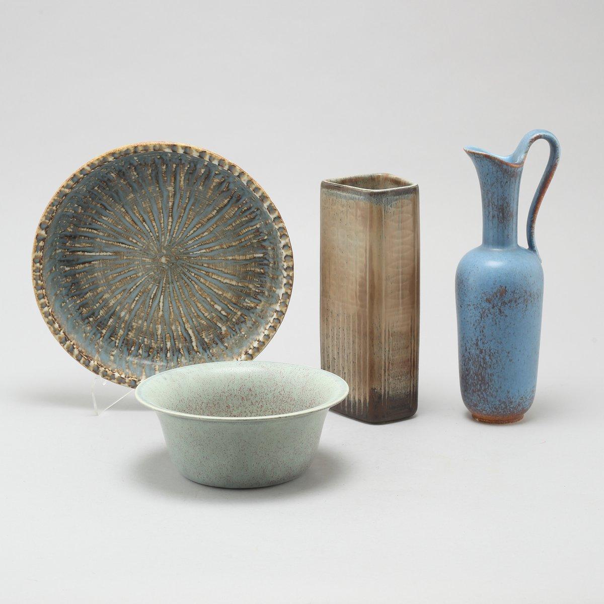 vintage keramik set von gunnar nylund f r r rstrand bei pamono kaufen. Black Bedroom Furniture Sets. Home Design Ideas