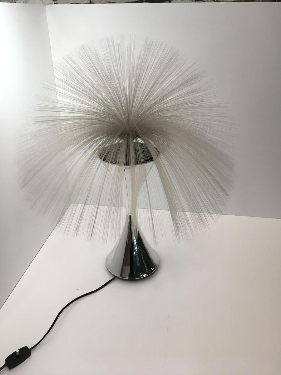 Optische Lampe aus Glasfaser von CIMA International, 1970er