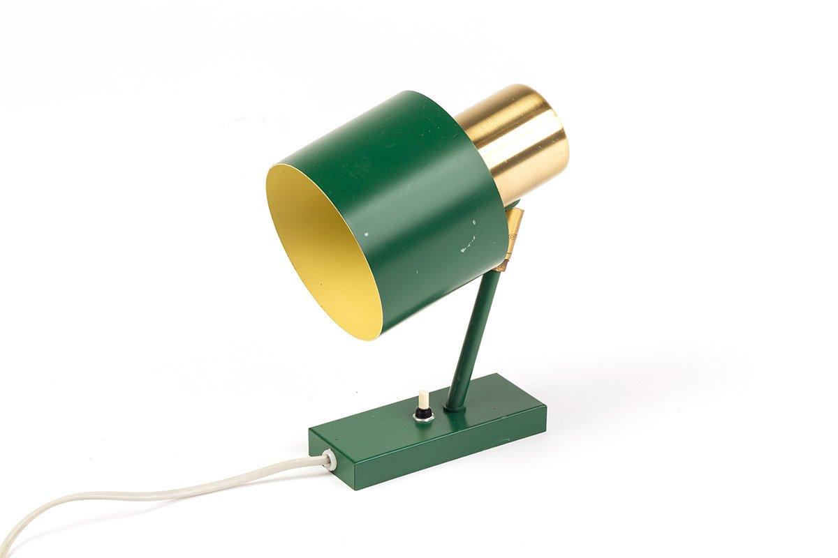 Grüne Vintage Alfa Wandlampe von Jo Hammerborg für Fog & Mørup