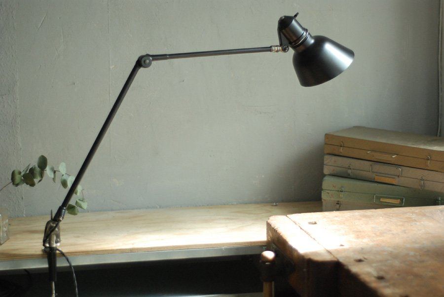 Vintage No 34 Double Arm Table Lamp From Sis For Sale At Pamono