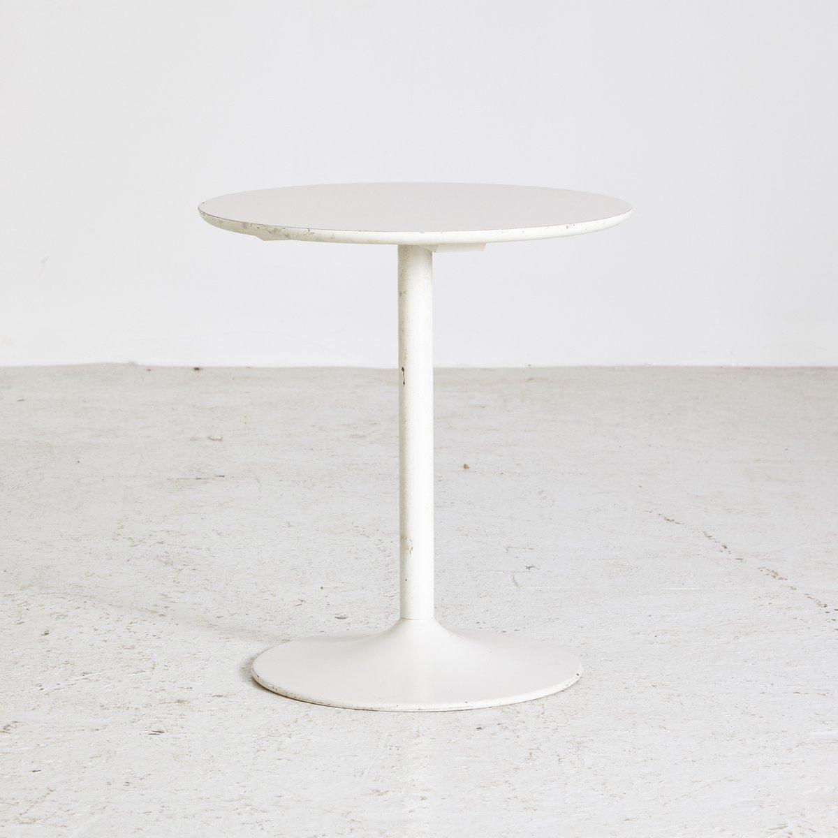 Vintage White Coffee Table 1970s