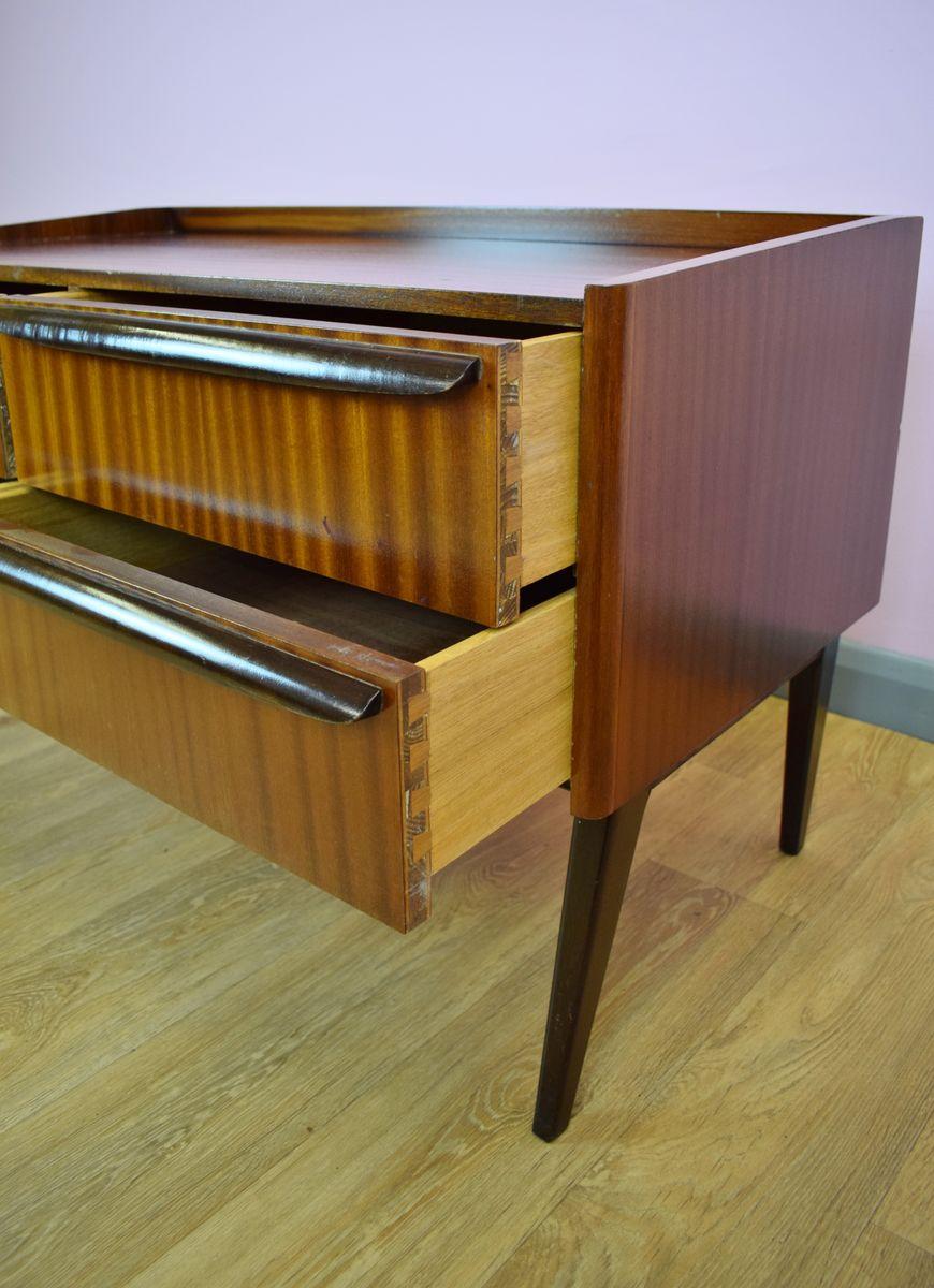 Vintage Danish Teak Low Sideboard for sale at Pamono