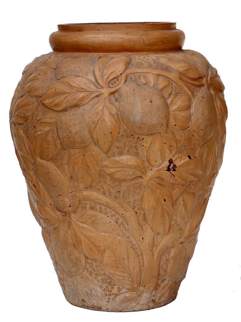 antike gro e terrakotta vase bei pamono kaufen. Black Bedroom Furniture Sets. Home Design Ideas