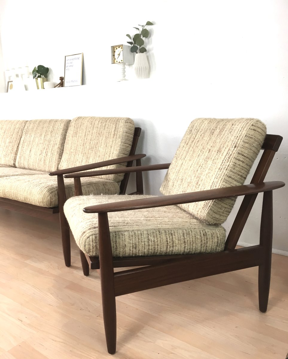 Mid-Century Living Room Set for sale at Pamono