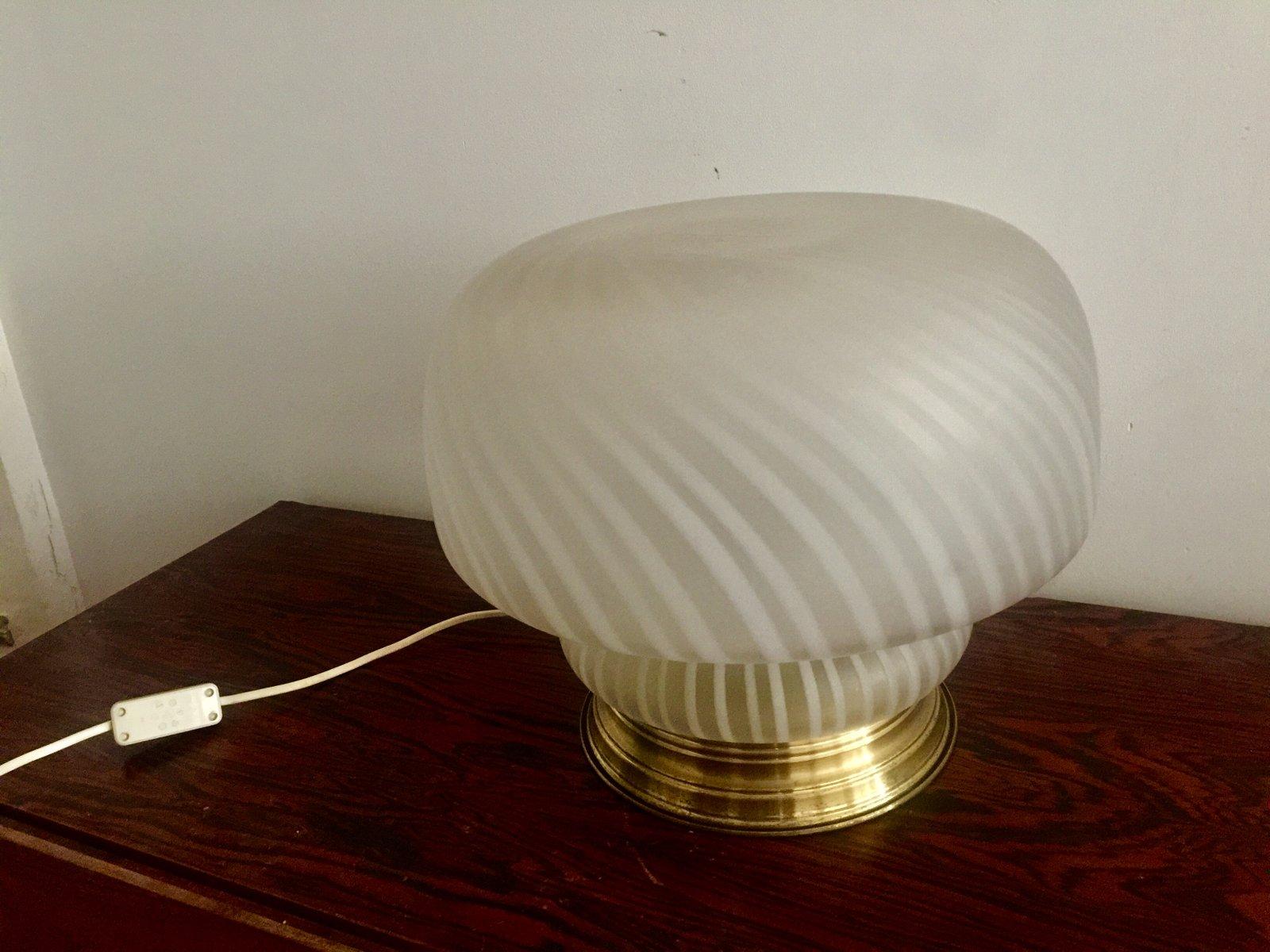 Murano Glas Lampe von Vistosi, 1960er
