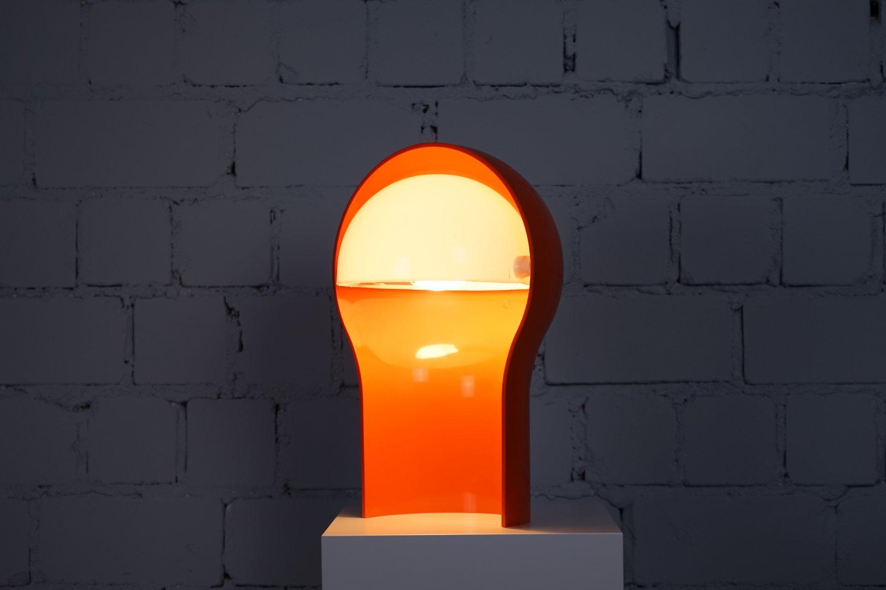 Lampada da tavolo telegono arancione di vico magistretti per artemide 1968 in vendita su pamono - Lampada da tavolo vico magistretti ...