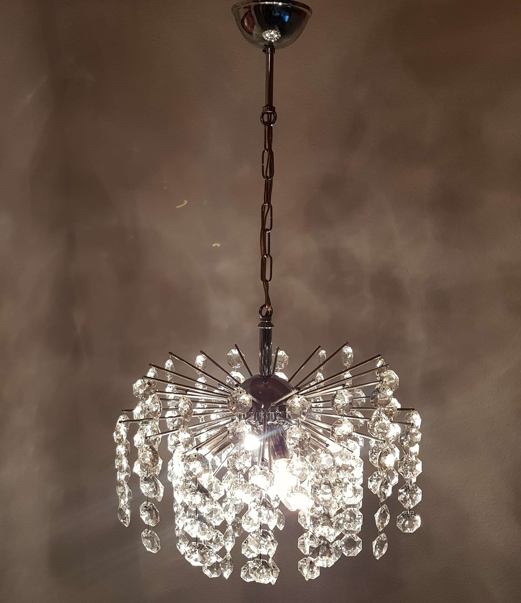 Crystal Chandelier Sale: German Crystal Chandelier, 1970s For Sale At Pamono