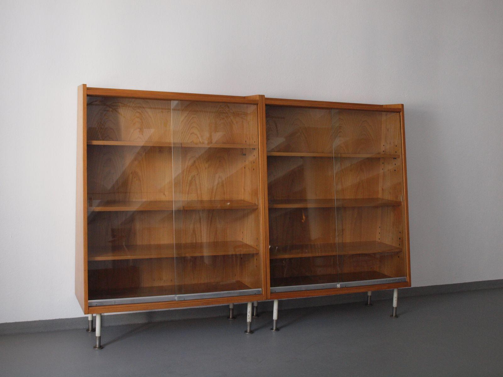 Vintage Desk And Bookcases Set