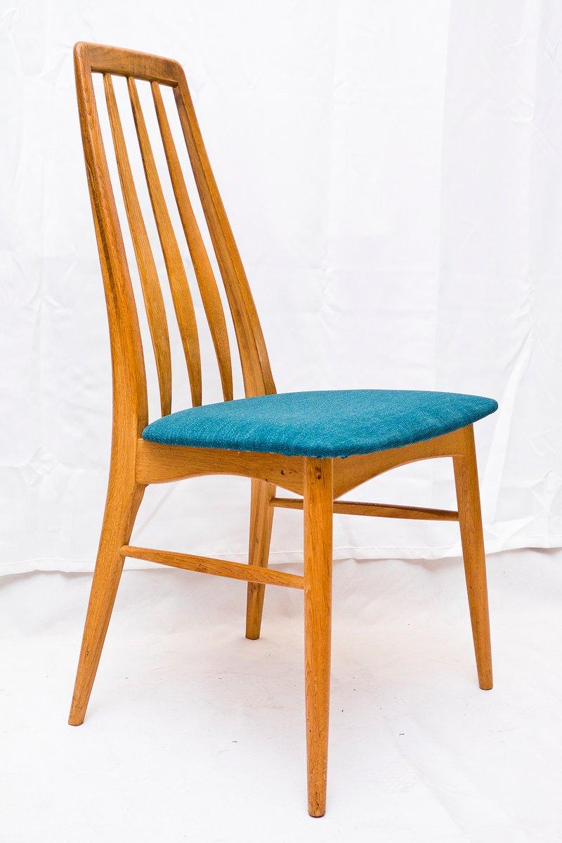 eva st hle von niels koefoed f r hornslet m belfabrik 1960er 4er set bei pamono kaufen. Black Bedroom Furniture Sets. Home Design Ideas
