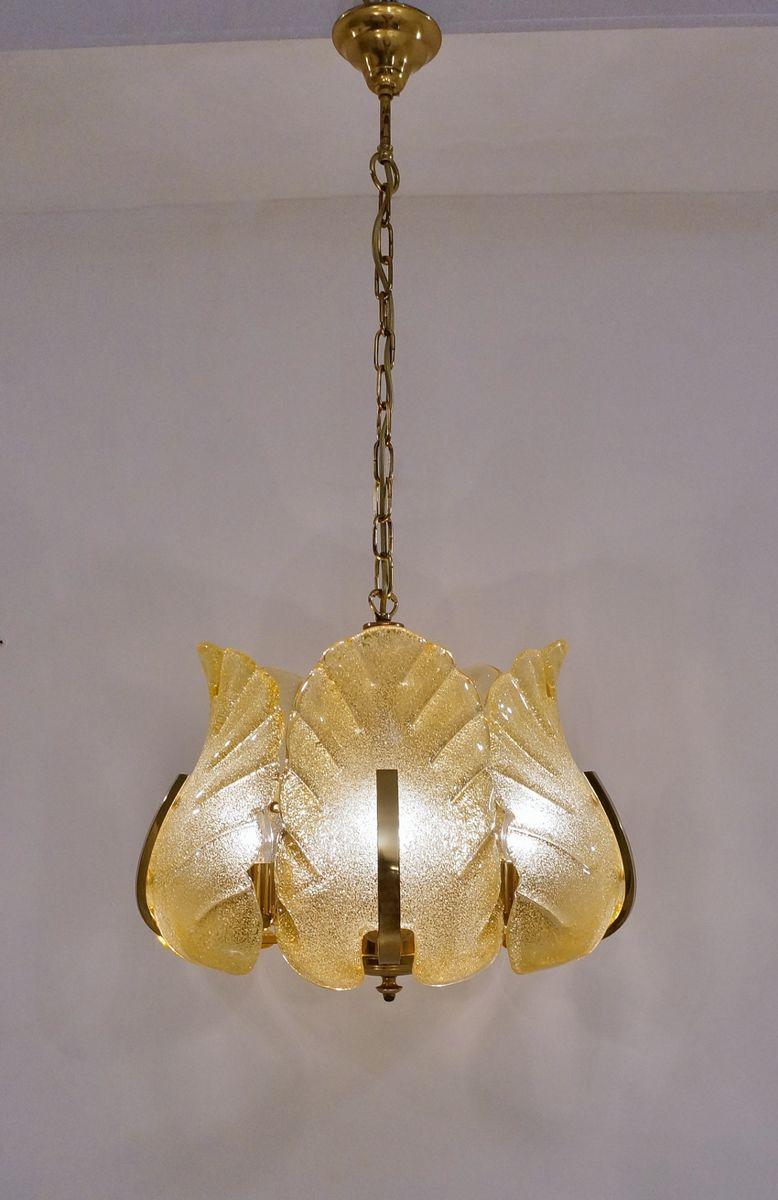 Schwedische Deckenlampen von Carl Fagerlund für Orrefürs, 1960er, 2er ...