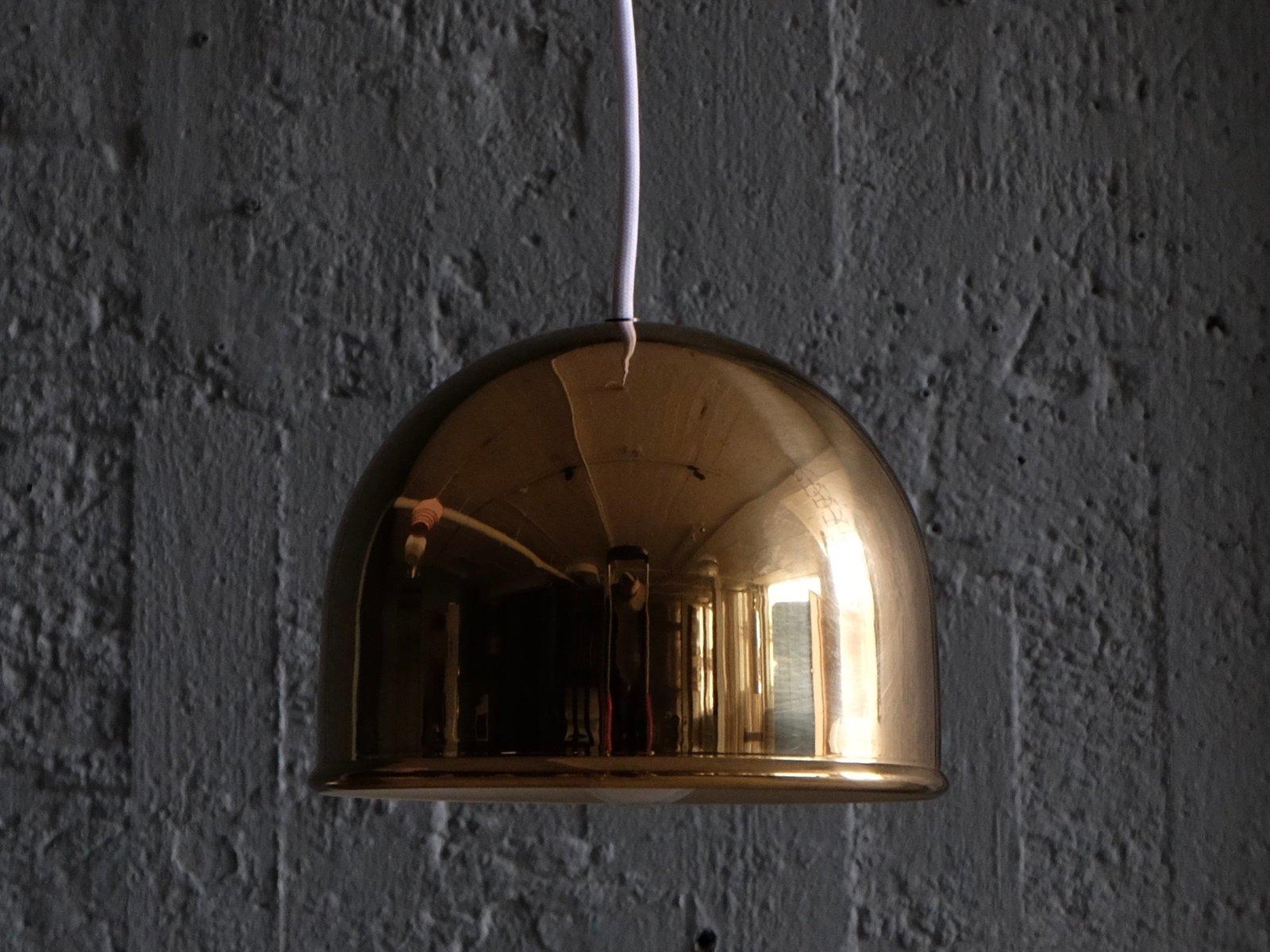 Messing Deckenlampen von Bergboms, 1960er, 2er Set