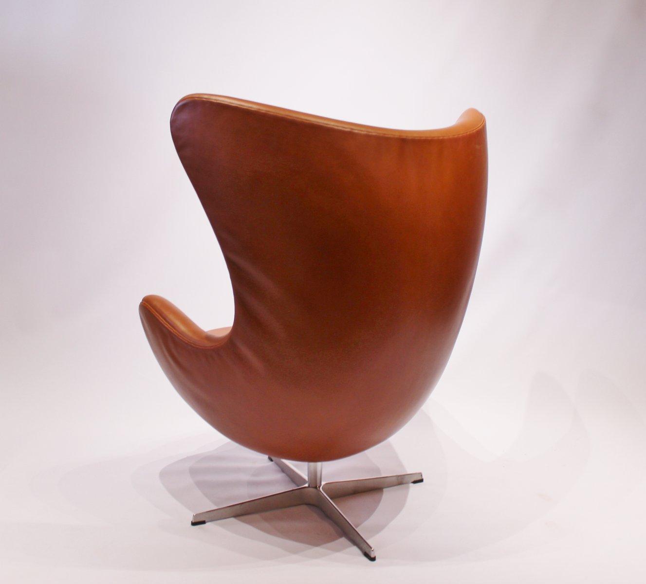 modell 3316 egg chair von arne jacobsen f r fritz hansen 1958 bei pamono kaufen. Black Bedroom Furniture Sets. Home Design Ideas