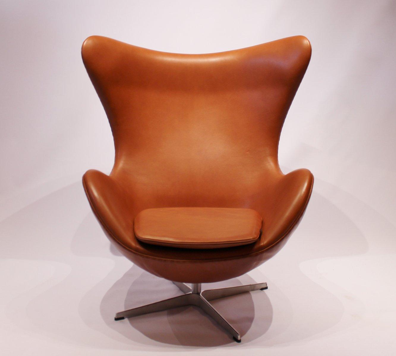 Modell 3316 Egg Chair Von Arne Jacobsen Für Fritz Hansen 1958 Bei