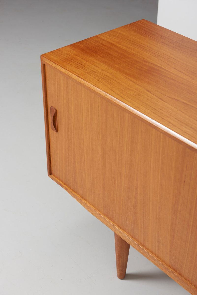 mid century danish teak sideboard from clausen son for sale at pamono. Black Bedroom Furniture Sets. Home Design Ideas