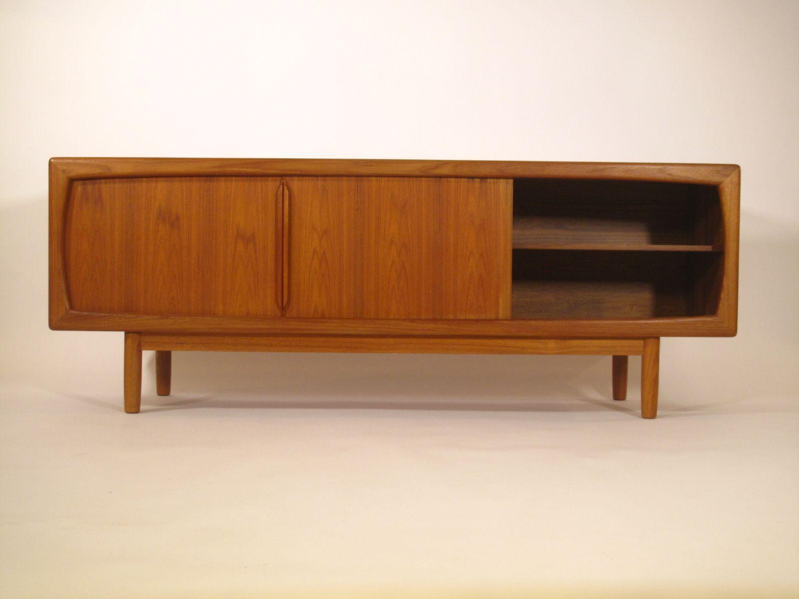mid century danish teak sideboard for sale at pamono. Black Bedroom Furniture Sets. Home Design Ideas