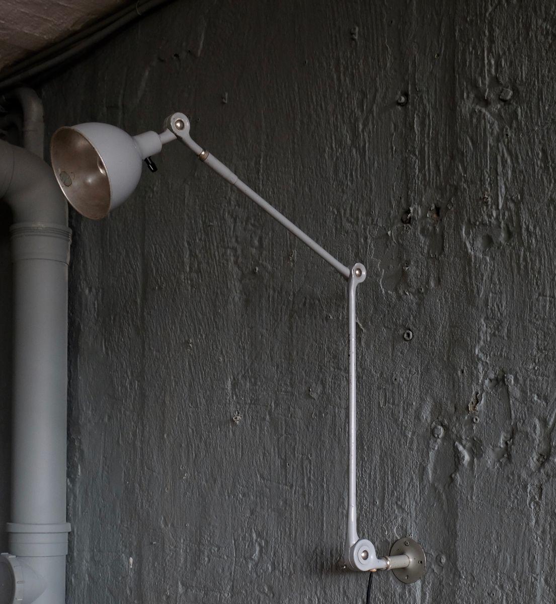 Schwedische industrielle Lampe von Pefege, 1950er