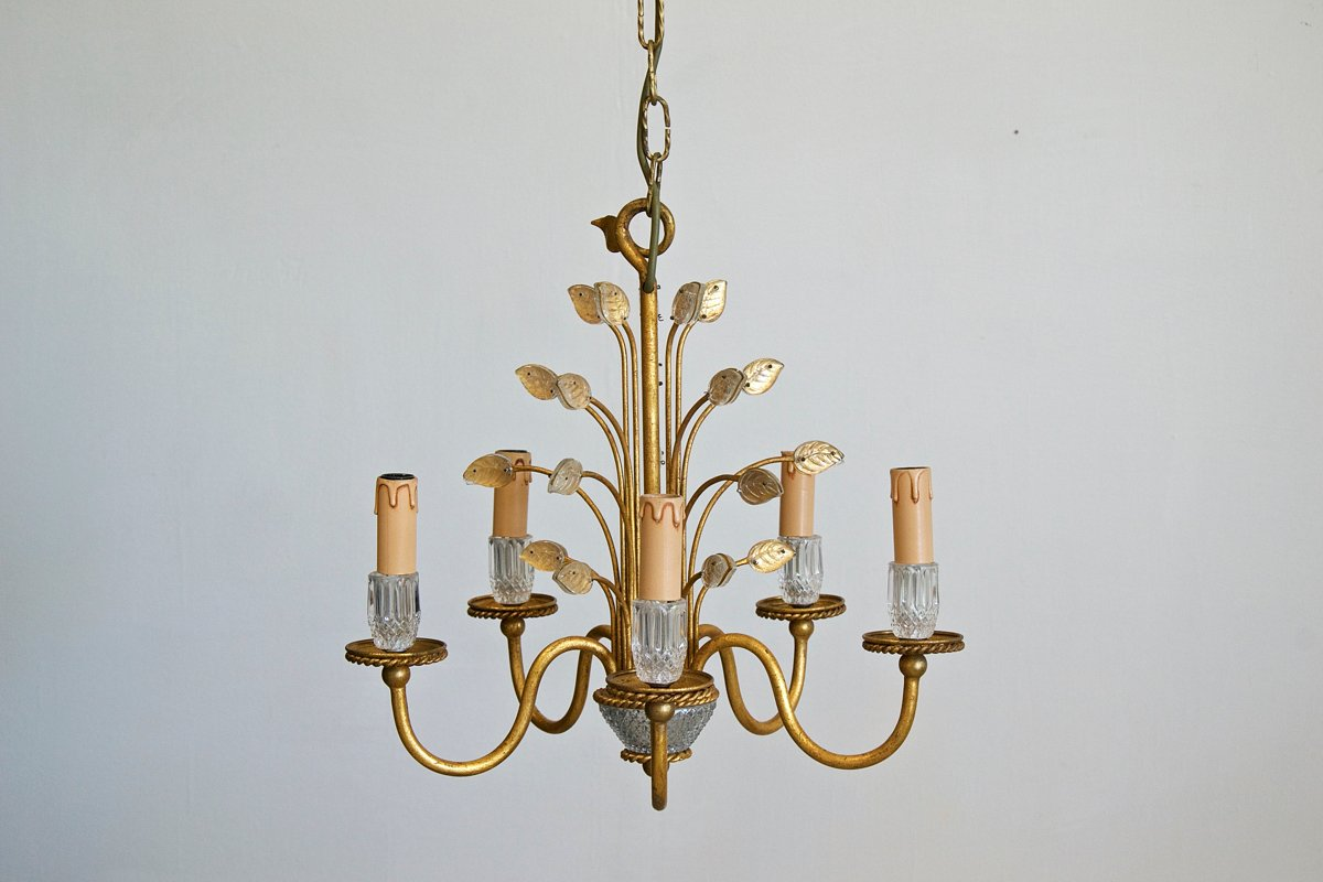 Vintage italian chandelier from banci firenze for sale at pamono vintage italian chandelier from banci firenze aloadofball Gallery