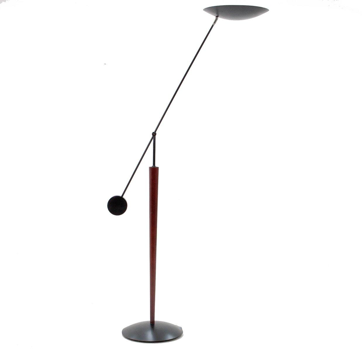 Balance Stehlampe mit Gegengewicht von Herda, 1980er
