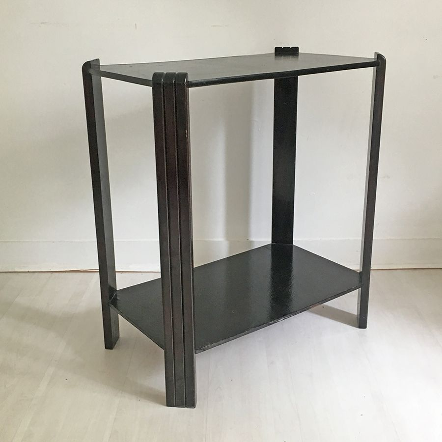 table d appoint vintage france 1930s en vente sur pamono. Black Bedroom Furniture Sets. Home Design Ideas