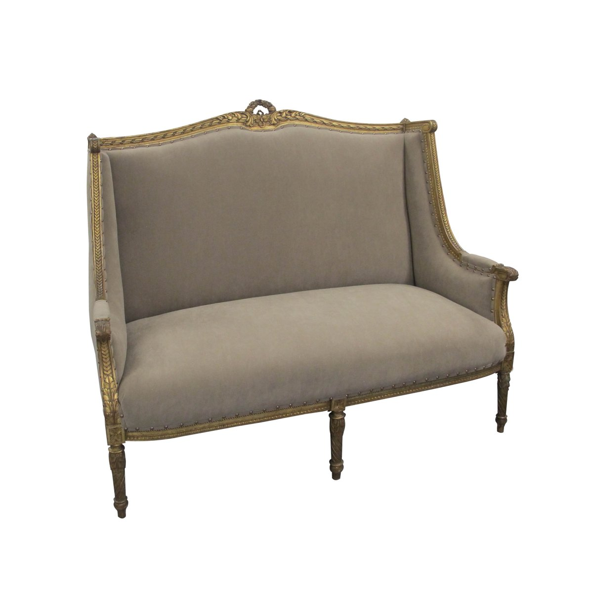 Antique French Marquise Sofa 7 3 602 00 Price Per Piece