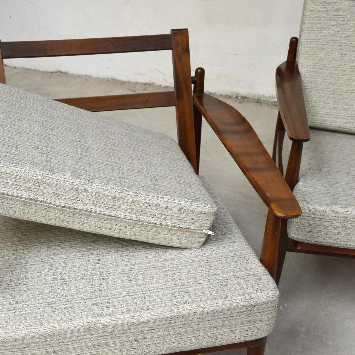 Scandinavian Lounge: Scandinavian Teak Lounge Set, 1960s For Sale At Pamono