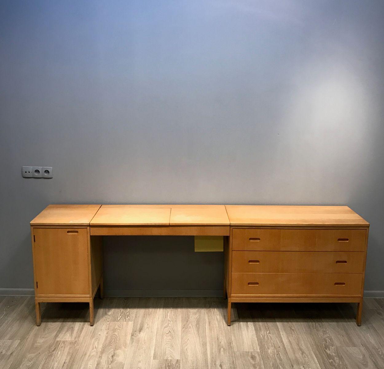 schreibtisch mit schubladen 1960er bei pamono kaufen. Black Bedroom Furniture Sets. Home Design Ideas