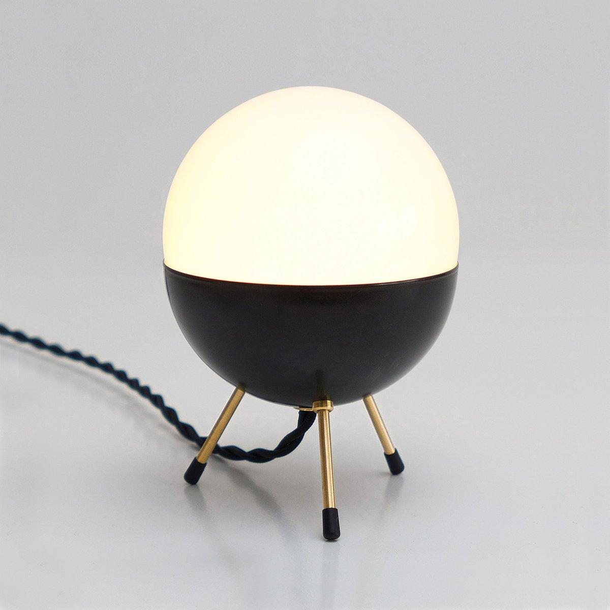 space age minimal sputnik tischlampe von balance lamp bei pamono kaufen. Black Bedroom Furniture Sets. Home Design Ideas