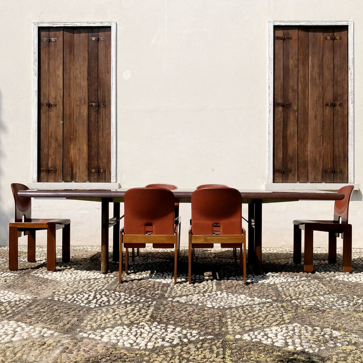 GAPI Tisch von Gino Gamberini & Giancarlo Piretti für Anonima Castelli...