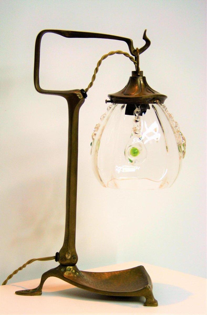 Art nouveau bronze table lamp by friedrich adler 1900s for sale at art nouveau bronze table lamp by friedrich adler 1900s aloadofball Image collections