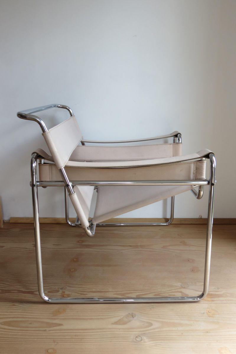 b3 wassily stuhl von marcel breuer f r gavina bei pamono kaufen. Black Bedroom Furniture Sets. Home Design Ideas