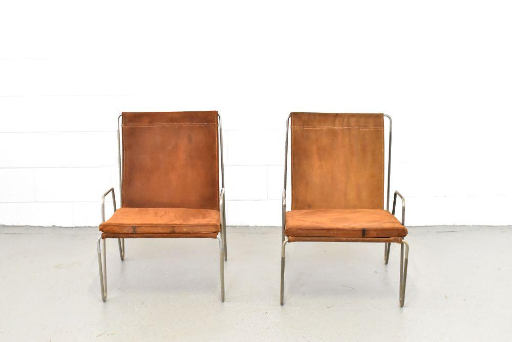 Modell 3351 Bachelor Stühle von Verner Panton für Fritz Hansen, 1950er...
