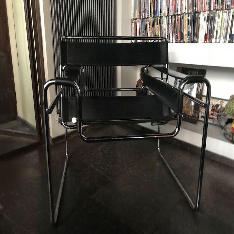 Vintage Wassily Sessel von Marcel Breuer für Knoll International, 1960...