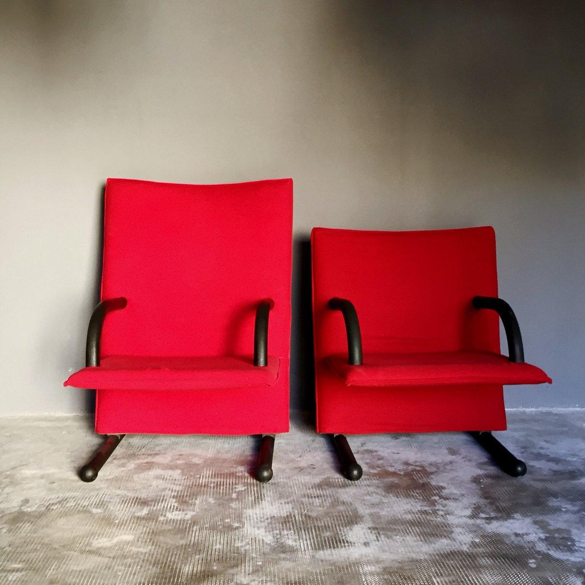 T-Serie Sessel von Burkhard Voghterr für Arflex, 1984, 2er Set