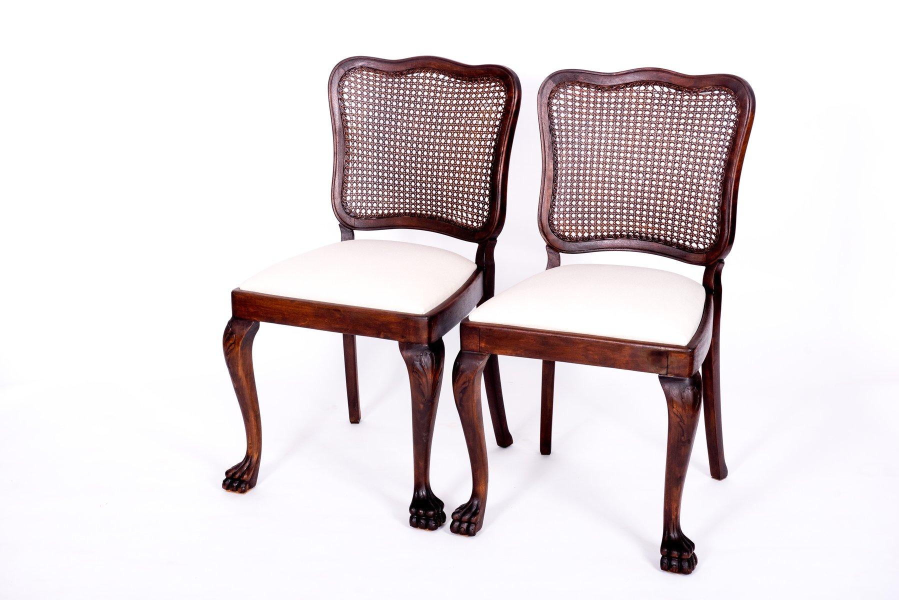 Sedie Stile Chippendale : Tavolo e 4 sedie antichi in stile chippendale in vendita su pamono