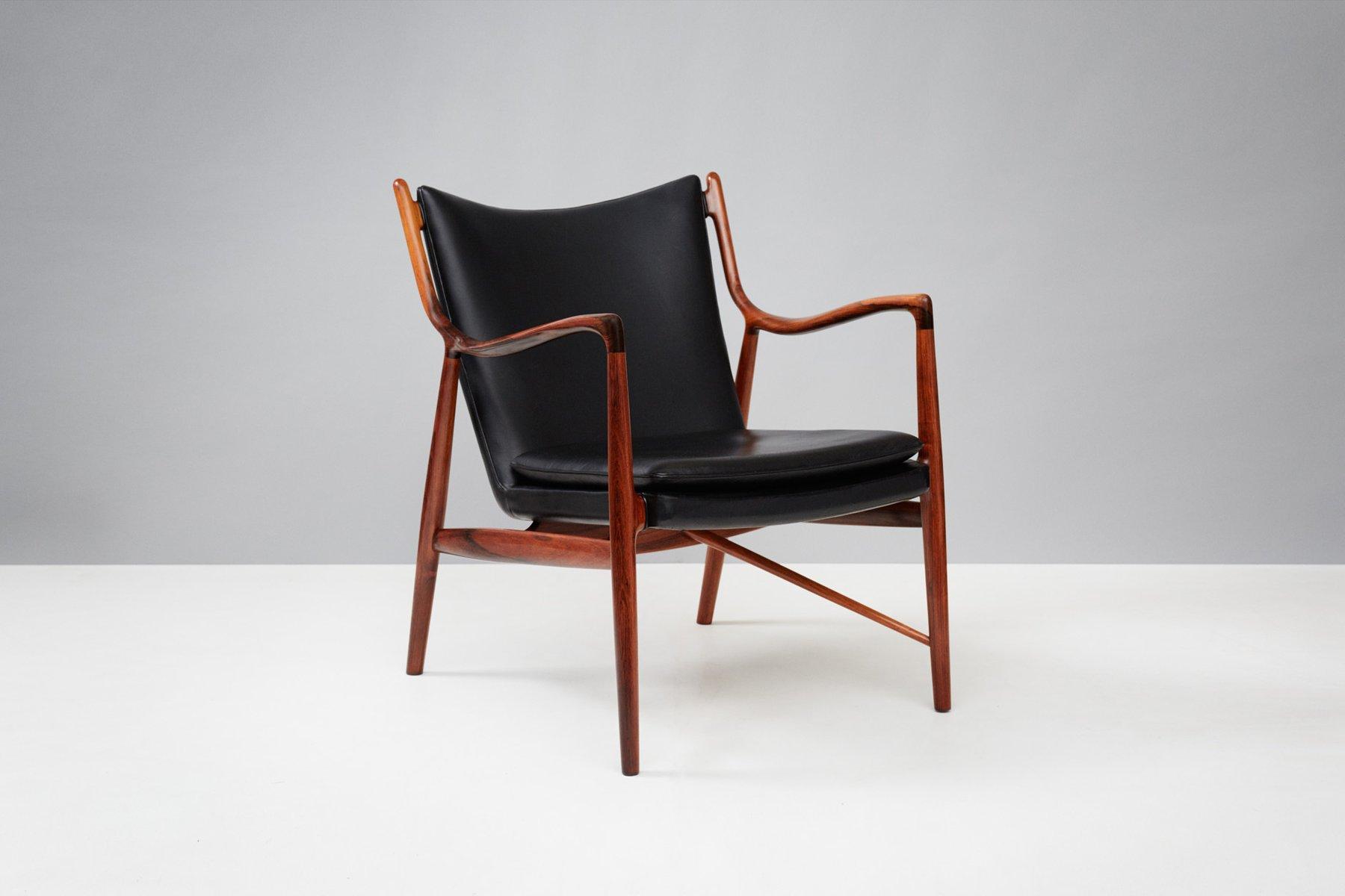 Vintage Modell FJ-45 Chair von Finn Juhl für Niels Vodder