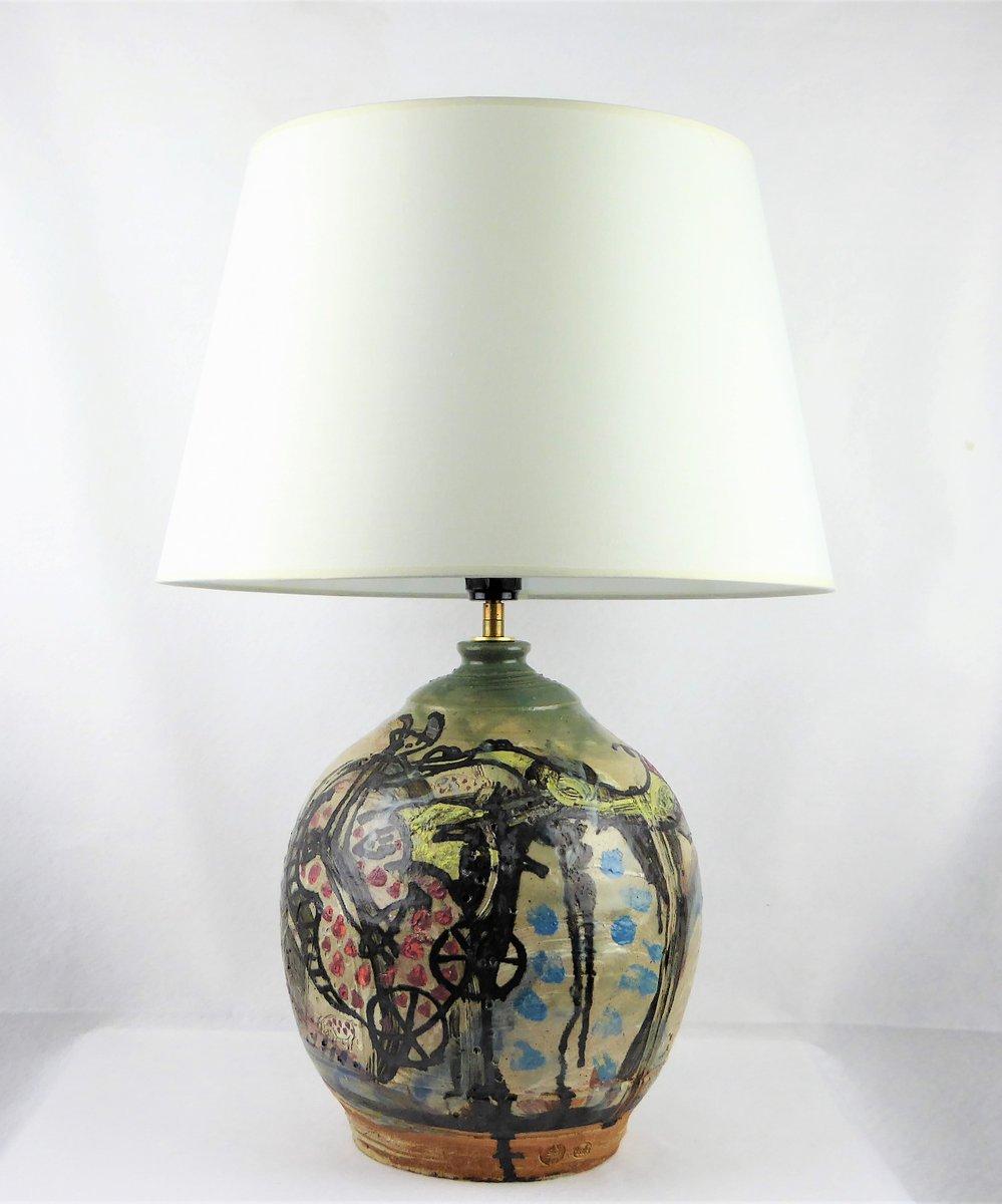 Französische vintage Vase von Thierry Basile, 1990er