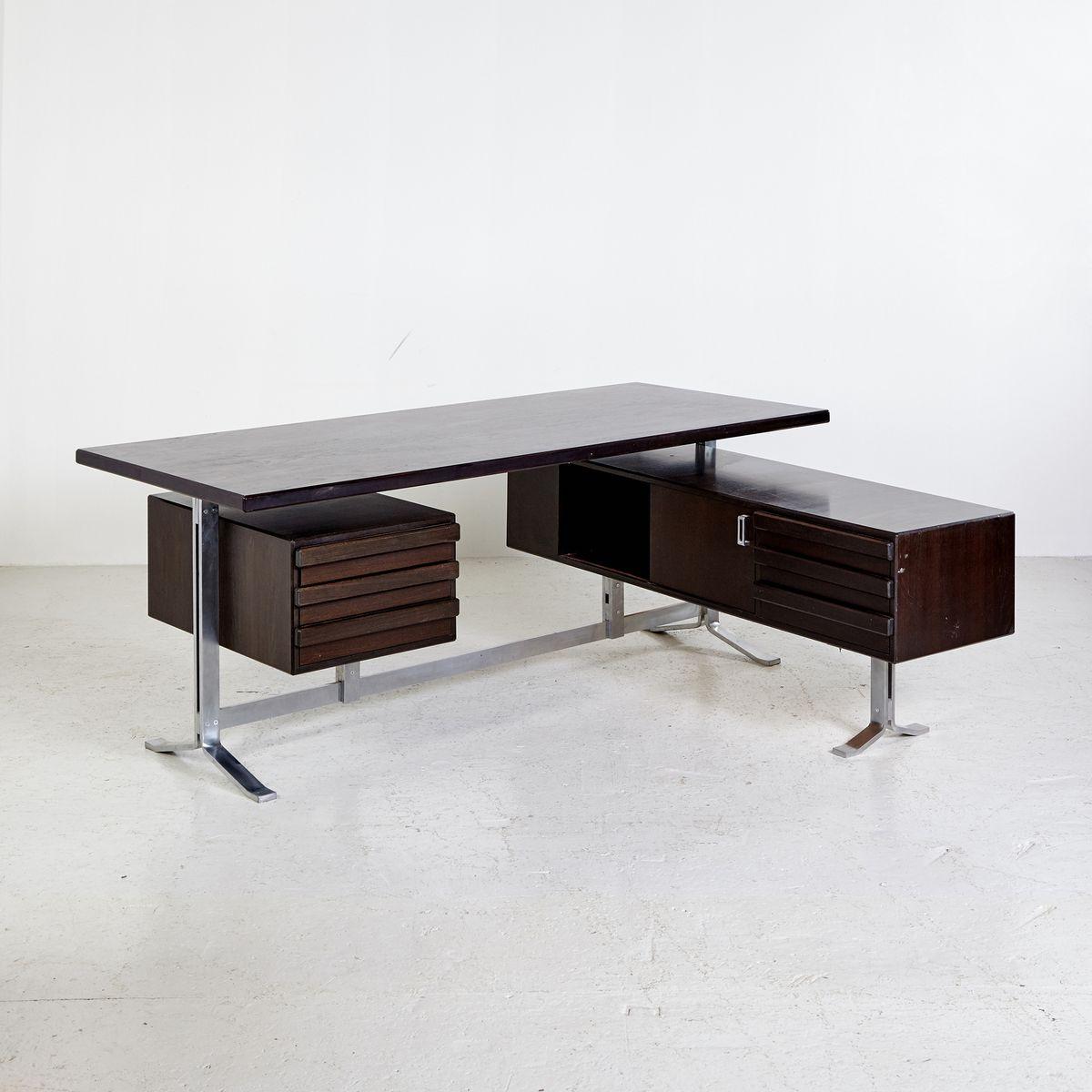 chef schreibtisch von gianni moscatelli f r f rmanova 1960er bei pamono kaufen. Black Bedroom Furniture Sets. Home Design Ideas