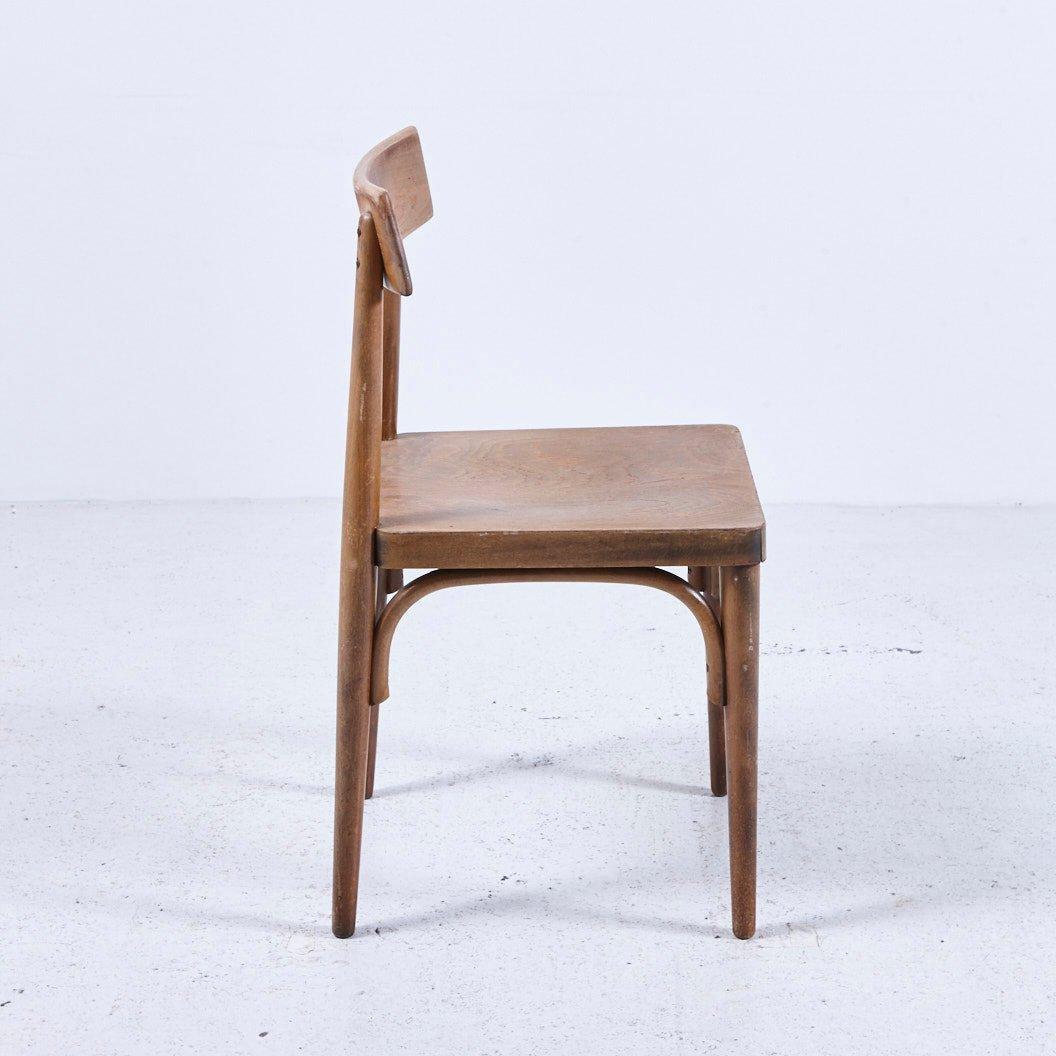 Beeindruckend Stuhl Holz Das Beste Von Vintage Stuhl, 1950er